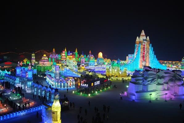 Harbin Ice Festival - Ice World