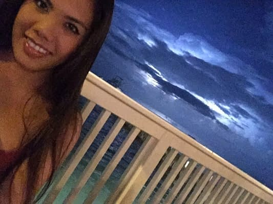 Tropical storm Grand Cayman Island