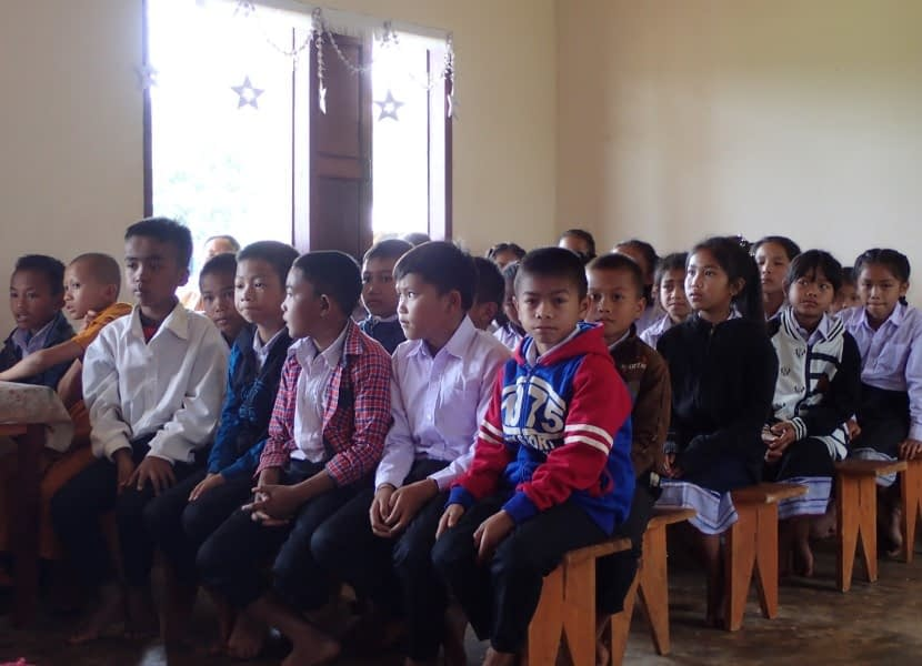 Ka Touat Laos School Project - Students