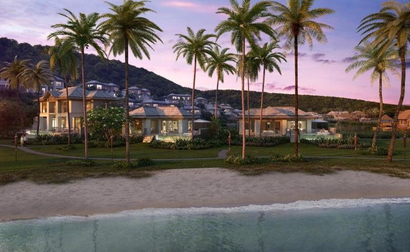 Six Senses La Sagesse Grenada Beachfront Villa Suites