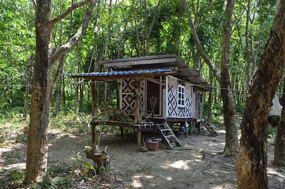 Sea Gypsy village Ko Bulon Leh