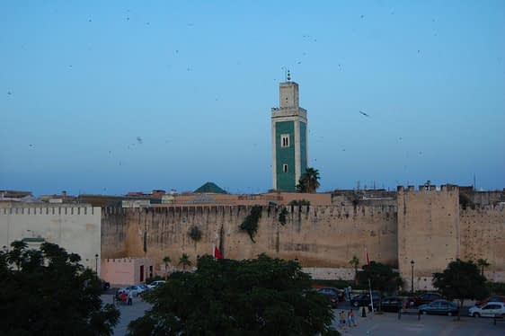 Grand Mosque Meknes Morocco