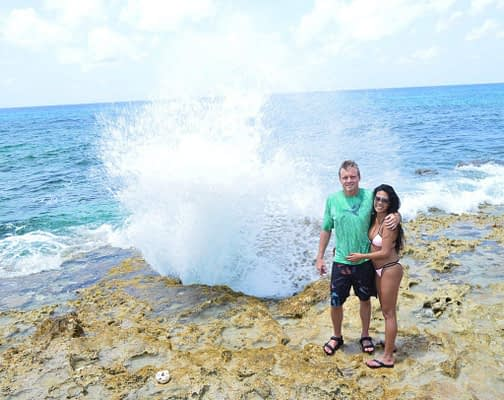 """Photo at """"The Blowholes"""" Grand Cayman Island East End"""