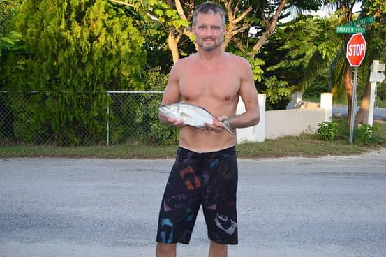 Fishing West Bay Beach Grand Cayman