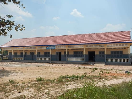 Completed Community Development in Cambodia