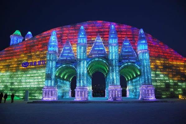 Harbin Ice sculpture