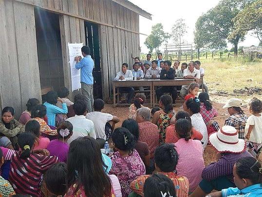 Implementation of Community development in Cambodia