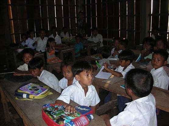 Poor Learning Conditions at Tuol Kruos School