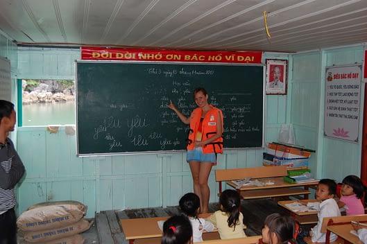 Halong Bay Floating Village Primary School Photos