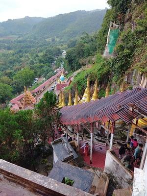 Covered Walkway Pindaya Cave