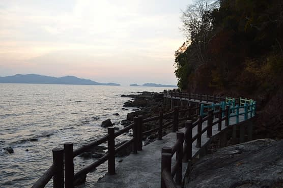 Mu Ko Phetra National Park path