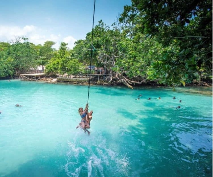 Vanuatu Activities Blue Holes