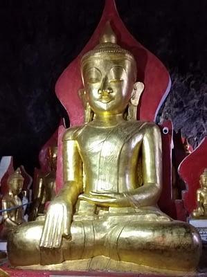 Large Golden Buddha