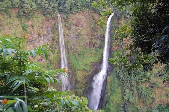 Tad Fane waterfall Bolaven Plateau