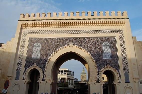 Blue Gate Fez, Morocco