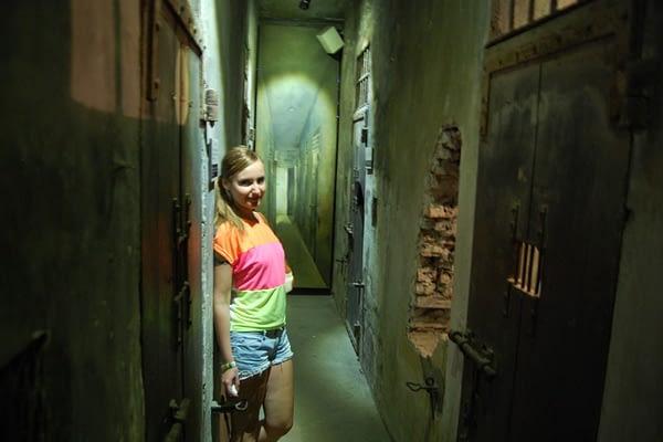 Hoa Lo Prison Cell Hanoi Vietnam