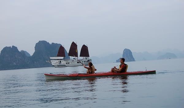 Halong Bay Cruise - Kayaking
