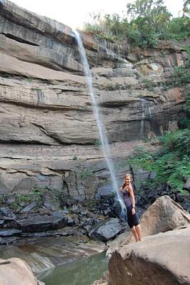 Tad Suong Waterfall Base