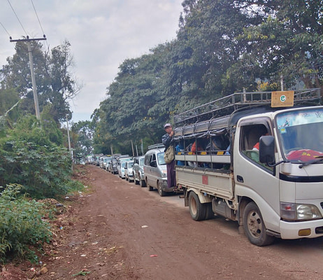 Taunggyi transport