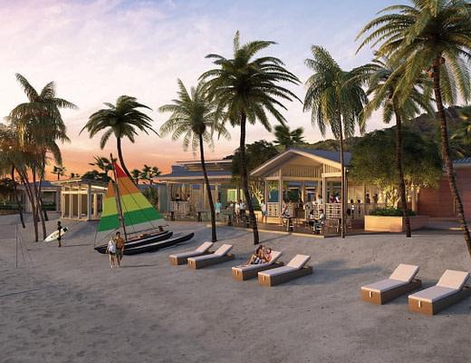 Beach Club, Grenada CBI Luxury Hotel Six Senses La Sagesse Grenada