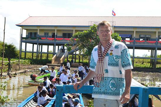 Prey Chas School Opening Ceremony Tonle Sap