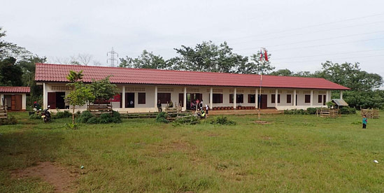 Completed Laos Community Development Project
