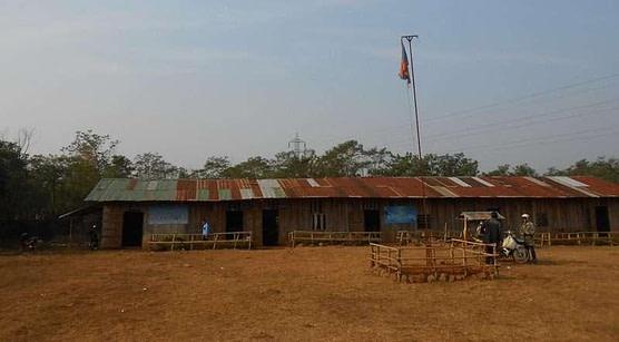 Ka Touat Laos previous school building
