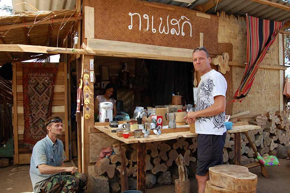 best cafe on Bolaven Plateau
