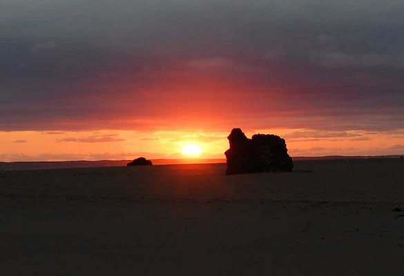 Ponta do Ouro Mozambique - sunrise