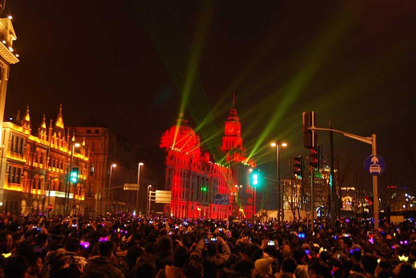 Light Show The Bund