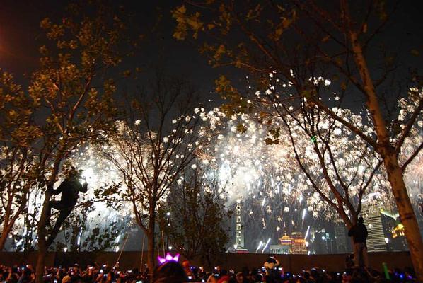 Shanghai New Year's Eve Fireworks