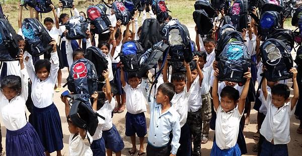 Tuol Krous Cambodia School Children