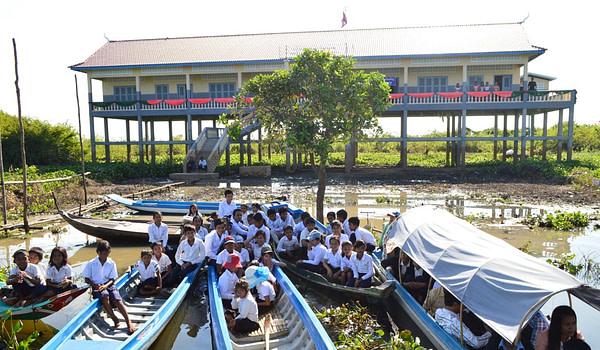 Prey Chas Cambodia Community School Project