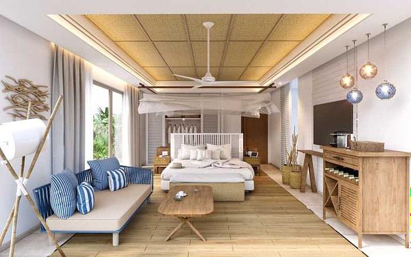 Six Senses La Sagesse - Typical guestroom