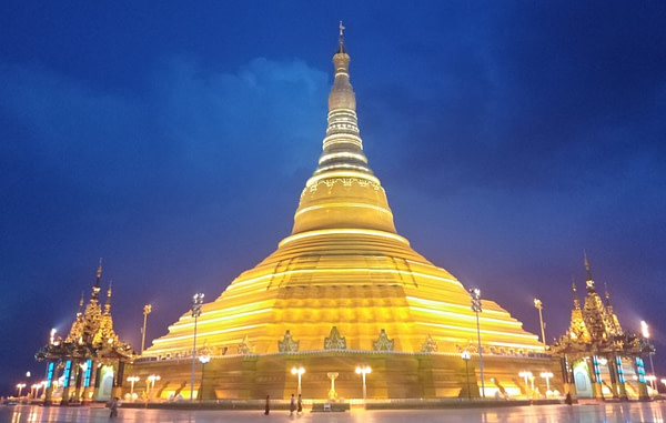 Uppatasanti Pagoda Naypyidaw Myanmar