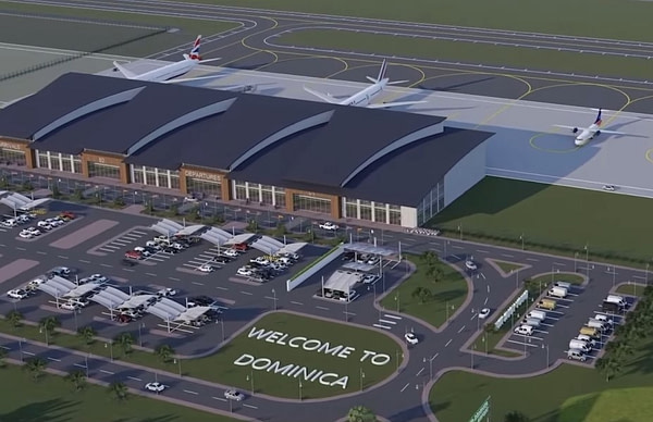 Dominica International Airport Rendering
