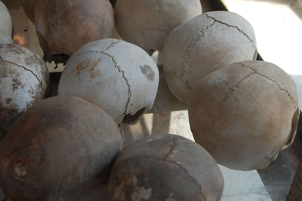 Choeung Ek, Human Skulls