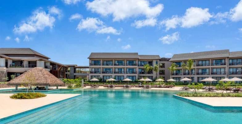 Cabrits Kempinski Resort Dominica Pool View